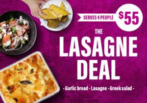 Lasagne Deal